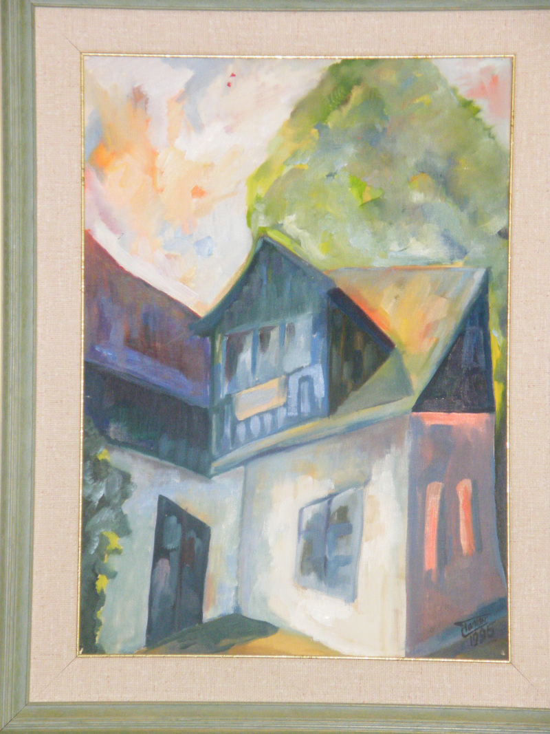 Painting   dr  Tamasi József - Belgyógyászat, természetes gyógymódok