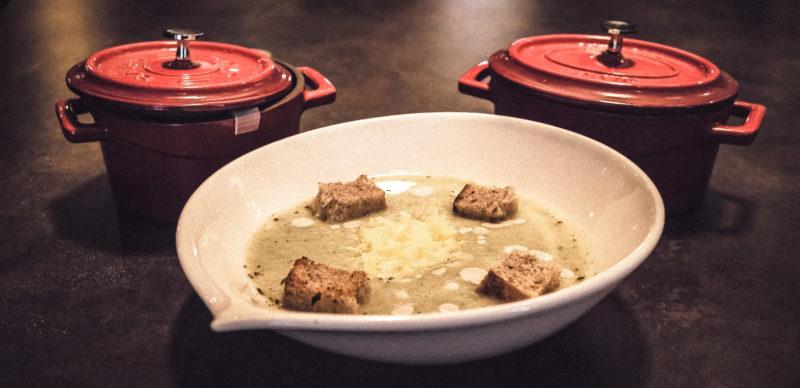 Fennel cream soup